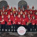 La Banda Musicale alla celebrazione dei settantanni della Liberazione dell'Italia