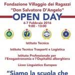 Open Day 2016 alla Fondazione Villaggio dei Ragazzi