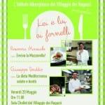 """Le """"Stelle"""" della cucina in scena al Villaggio: il 20 maggio incontro-dibattito con Giuseppe Daddio e Rosanna Marziale"""