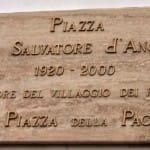 Cerimonia di Inaugurazione Piazza don Salvatore D'Angelo