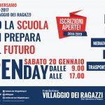 Open Day della Fondazione Villaggio dei Ragazzi: le Scuole incontrano le future matricole