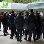 """Gli alunni dell'Istituto Alberghiero """"Villaggio dei Ragazzi""""all' """"Holiday Inn"""" di Nola"""