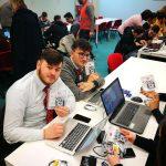 Studenti della Fondazione Villaggio dei Ragazzi in visita alla STMicroelectronics di Napoli