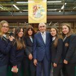 """Le allieve del Liceo Linguistico """"Villaggio dei Ragazzi"""" partecipano al Premio """"BUONA NOTIZIA"""