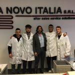 """8 STUDENTI DEL VILLAGGIO DEI RAGAZZI """"IN FORMAZIONE"""" ALL' A-NOVO DI ENZO MUSCIA"""