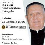 Villaggio dei Ragazzi: Festeggiamenti in onore di don Salvatore d'Angelo, padre e maestro della gioventù.