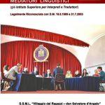 """La Scuola Universitaria per Mediatori Linguistici """"Villaggio dei Ragazzi"""""""