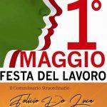 I° Maggio: Gli Auguri del Commissario De Luca