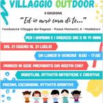 """Villaggio dei Ragazzi: la Il° Edizione del Campo estivo """"VillaggioOUTdoor"""""""