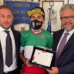 Villaggio dei Ragazzi: Targa al ciclista campione d'Italia Ivan Toselli